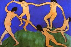 Matisse painting La Danse