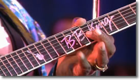 Lucille is name of BB Kings guitar