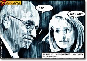 Dick Cheney and daughter Liz Cheney