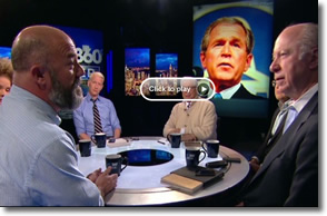 Andrew Sullivan debates the legacy of George W Bush with David Gergen