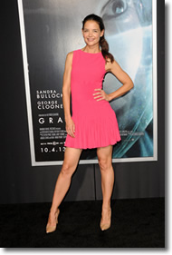 Katie Holmes at Gravity Premiere