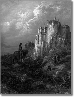 Camelot by Gustave Dore (1868)
