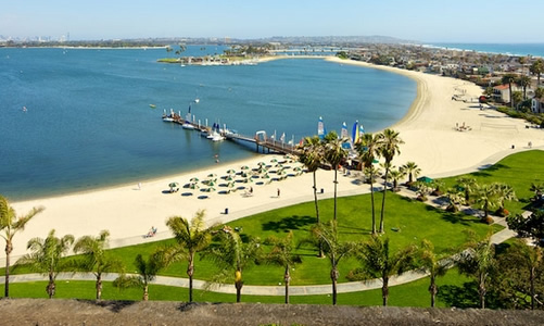 Catamaran Resort on Mission Bay in San Diego near Seaworld