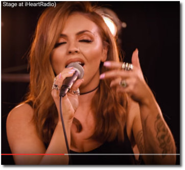 Jesy singing Touch acoustic