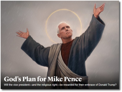God's Plan for Mike Pence by Atlantic writer McKay Coppins