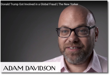 Adam Davidson talks about how Trump got involved in a global fraud (August 2017)