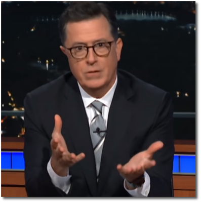 Stephen Colbert addresses sexual misconduct of his boss, Leslie Moonves (31 July 2018)